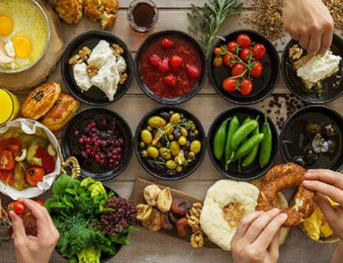 Gezond drinken, originele gerechten en kwaliteit van eten